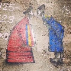 Street art in Seoul, Sth Korea